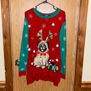Woman's plus size Christmas sweater! 2XL